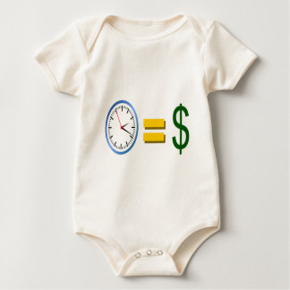 time is money baby bodysuits