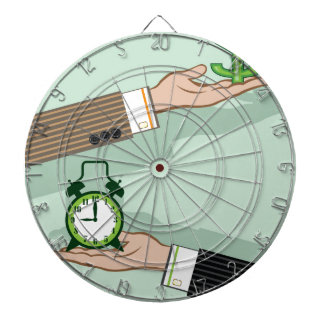 Time is Money Dart Board