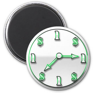 Time is Money Magnet