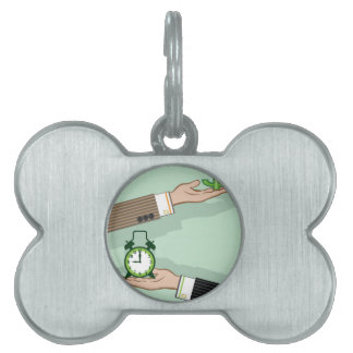 Time is Money Pet ID Tag