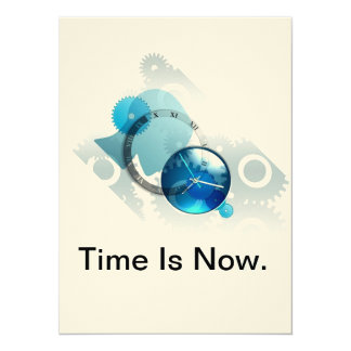 Time Is Now-product. Card