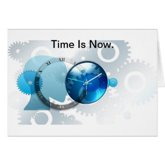 Time Is Now -products. Card