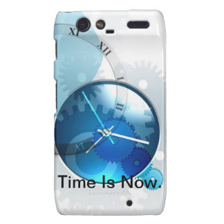 Time Is Now -products. Droid RAZR Cover