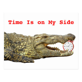 Time Is on My Side Postcard
