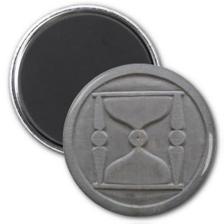 Time is Running Out - Cemetery Symbol Magnet