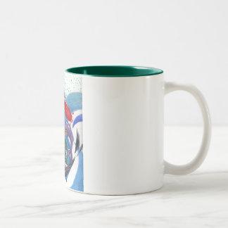 Time is slipping away... Two-Tone coffee mug