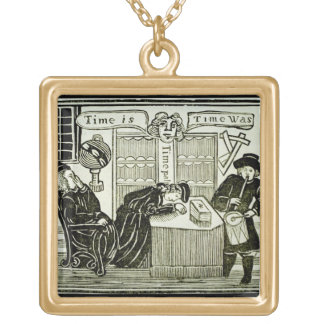 'Time Is, Time Was', copy of an illustration from Gold Plated Necklace