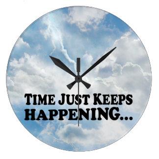 Time Keeps Happening - Clock
