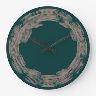 Time-Lapse geek wall clock II