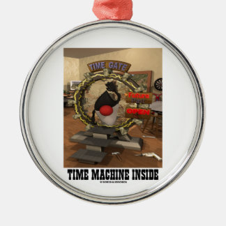 Time Machine Inside (Open Source Duke) Christmas Ornaments
