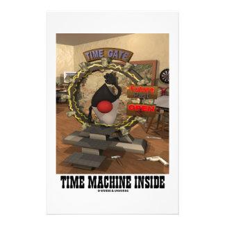 Time Machine Inside (Open Source Duke) Stationery Paper