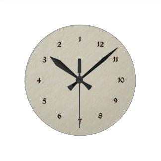 """Time Machine"" novelty clock"