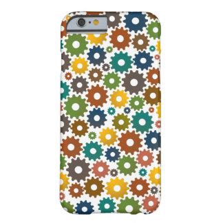Time Machine Pattern in Colors Barely There iPhone 6 Case