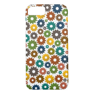 Time Machine Pattern in Colors iPhone 8/7 Case