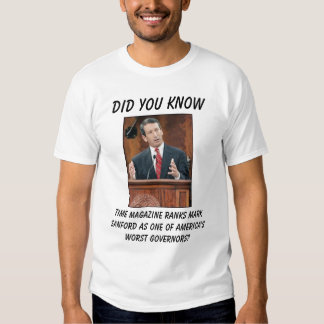 Time Magazine ranks Mark Sanfo... T-shirt