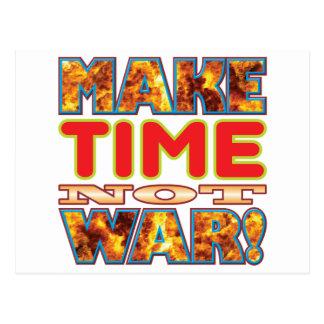Time Make X Postcard