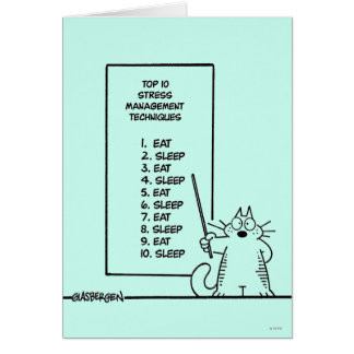 Time Management Card