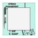 Time Management Dry Erase Board