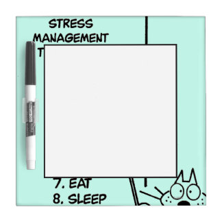 Time Management Dry Erase Board