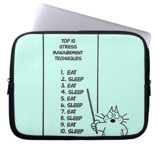 Time Management Laptop Computer Sleeve