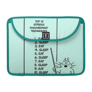 Time Management MacBook Pro Sleeve