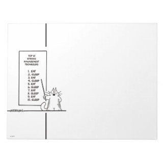 Time Management Memo Pads