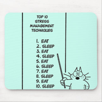 Time Management Mouse Pad