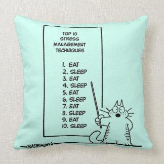 Time Management Throw Pillow