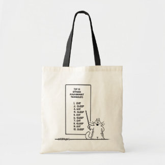 Time Management Tote Bag