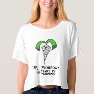 Time Management Turnip (adult) T-shirt