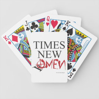Time new omen - Happy Halloween Bicycle Playing Cards