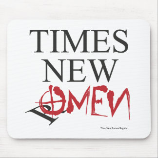 Time new omen - Happy Halloween Mouse Pad