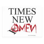 Time new omen - Happy Halloween Postcards