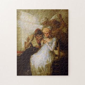 Time of the Old Women Francisco José de Goya Jigsaw Puzzle