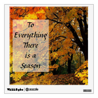 Time of the Season Wall Decal