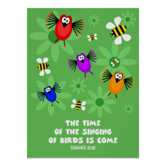 Time of the Singing of Birds Poster