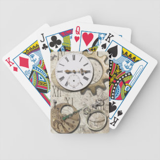 Time on My Hands Bicycle Playing Cards