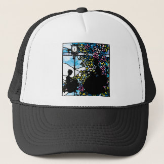 TIME-OUT BY THE WINDOW ~ WITH MOTHER.jpg Trucker Hat
