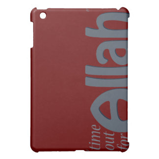 Time Out For Allah Cover For The iPad Mini