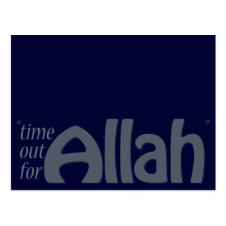 Time Out For Allah Postcard