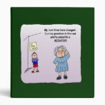 Time Out Funny Humorous Maw Binder Album