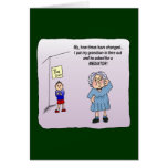 Time Out Humor Funny Maw Card