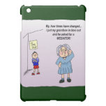 Time Out Humor Funny Maw iPad Case