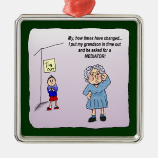 Time Out Humor Funny Maw Ornament