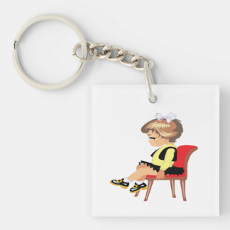 Time Out Keychain