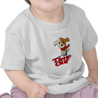 Time Out Pup Tshirt