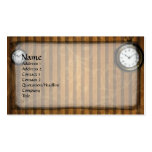 Time Out Steampunk Goth Business Card