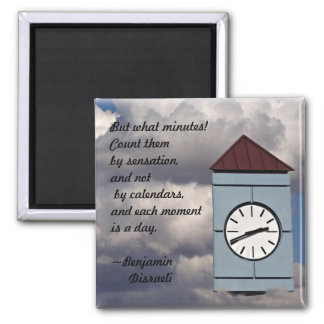 Time Passages 2 Inch Square Magnet