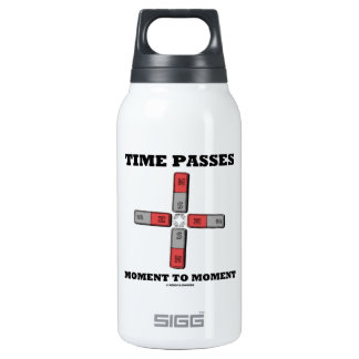 Time Passes Moment To Moment (Magnetic Quadrupole) Thermos Water Bottle
