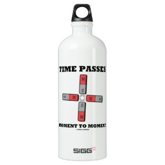 Time Passes Moment To Moment (Magnetic Quadrupole) Water Bottle